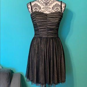 Betsey Johnson Formal Dress Back Zip Lined 4